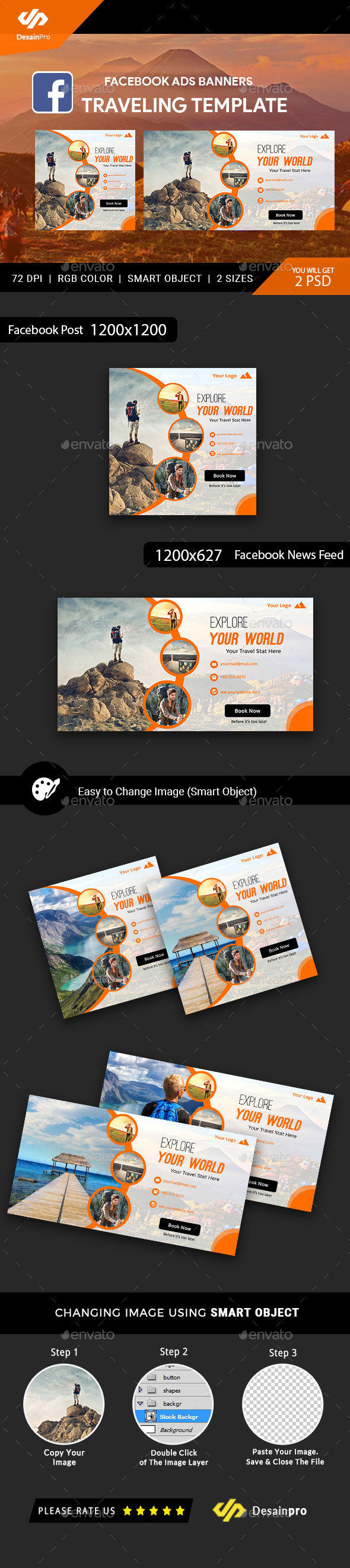 GraphicRiver Traveling Facebook Ad Banners AR 21186882