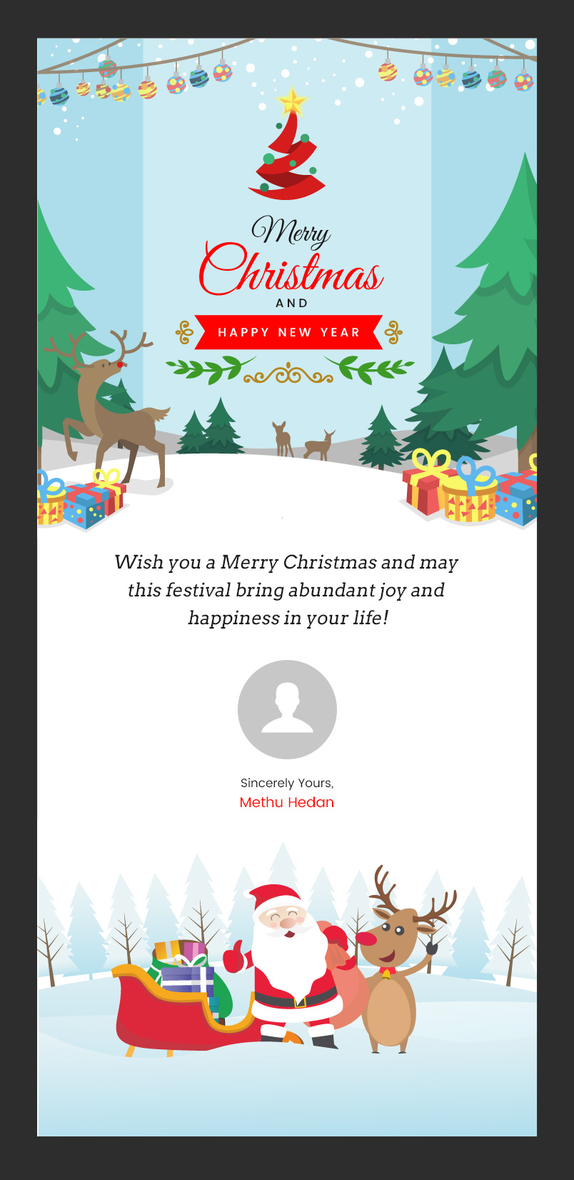 Brand New Christmas And New Year Responsive Email Templates Set By