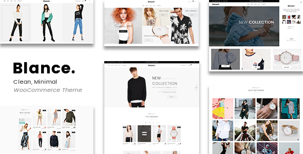 Blance - Clean, Minimal WooCommerce WordPress Theme