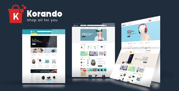 Download Korando – Multipurpose Theme for WooCommerce WordPress nulled 01 preview