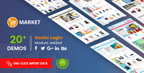 Market - Premium Responsive Magento 2 and 1.9 Store Theme