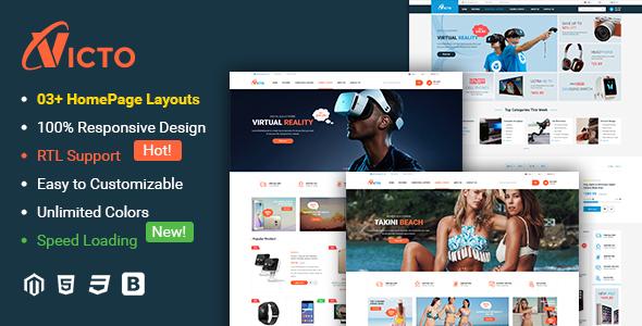 Victo - Ultimate Responsive Magento 2 Theme - Magento eCommerce