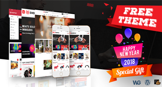 BIG New Year Gift| GET Latest MarketPlace Theme with Mobile Layout FREE