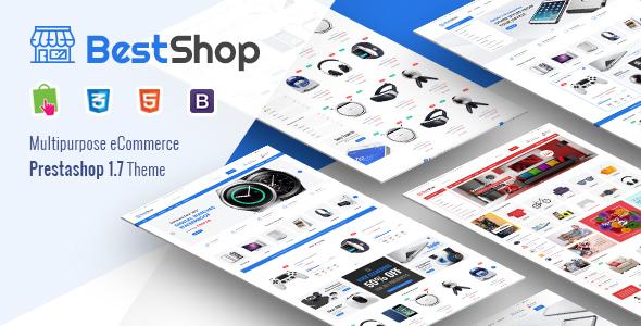 Image of BestShop - Responsive PrestaShop 1.7 Digital/Furniture Store Theme