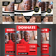 Charity Fundraisers 2 in 1 Bundle Flyer - GraphicRiver Item for Sale