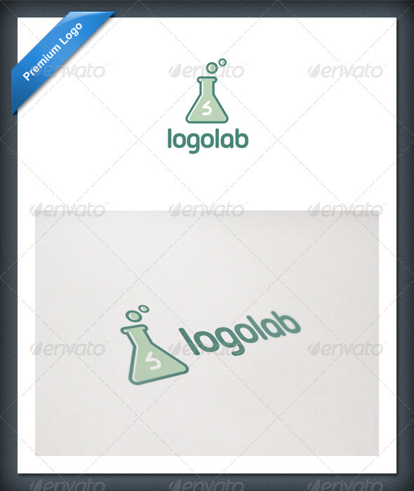 Laboratory Logo Template by domibit | GraphicRiver