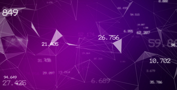 VideoHive Pink Data Network 21187462