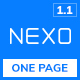 NEXO – Multipurpose One Page HTML5 Template