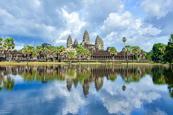 Angkor Wat - Stock Photo - Images