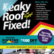 Roofing Company Flyer Template Vol.01