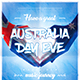 Australia Day Party Flyer vol.6 - GraphicRiver Item for Sale