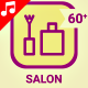 Beauty Salon Icon Set - Line Animated Icons - VideoHive Item for Sale