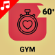 Gym Fitness Sport Workout Icon Set - Line Animated Icons - VideoHive Item for Sale