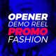 Demo Reel Promo Opener - VideoHive Item for Sale