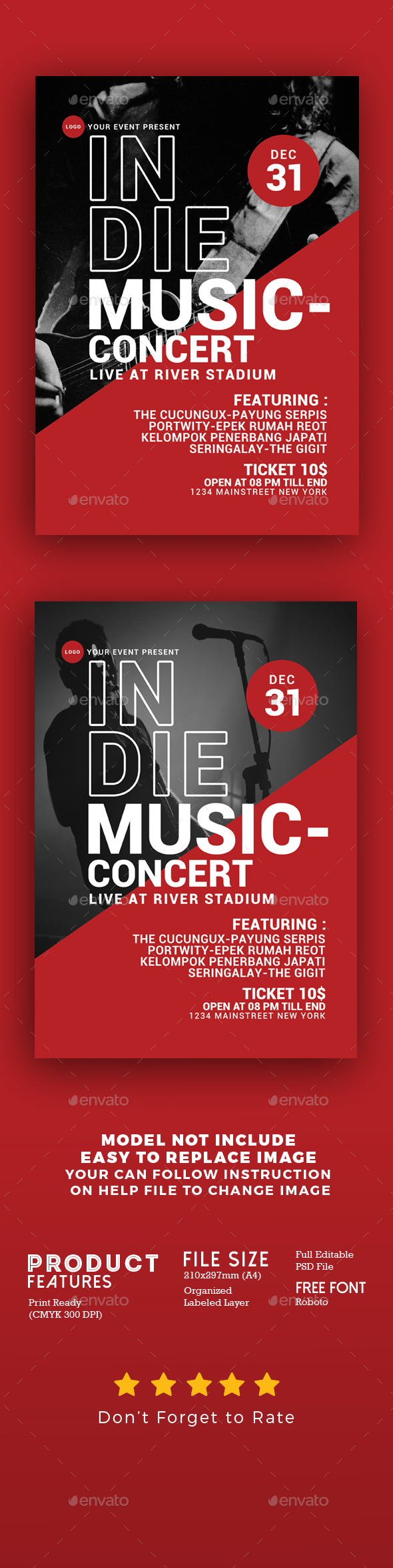 GraphicRiver Indie Music Concert 21187974