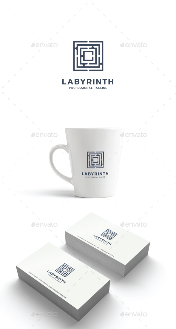 GraphicRiver Labyrinth Logo 21188020