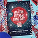 Martin Luther King Celebration Flyer - GraphicRiver Item for Sale