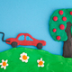 Electric Car Saving the Environment - PhotoDune Item for Sale