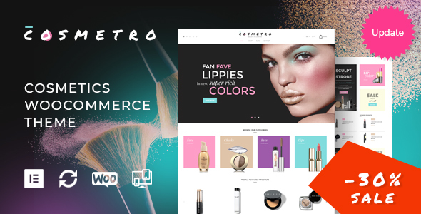 Cosmetro - Cosmetics Store WooCommerce Theme - WooCommerce eCommerce