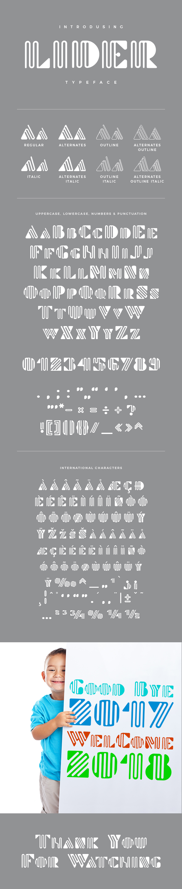 GraphicRiver Lider Typeface 21188313