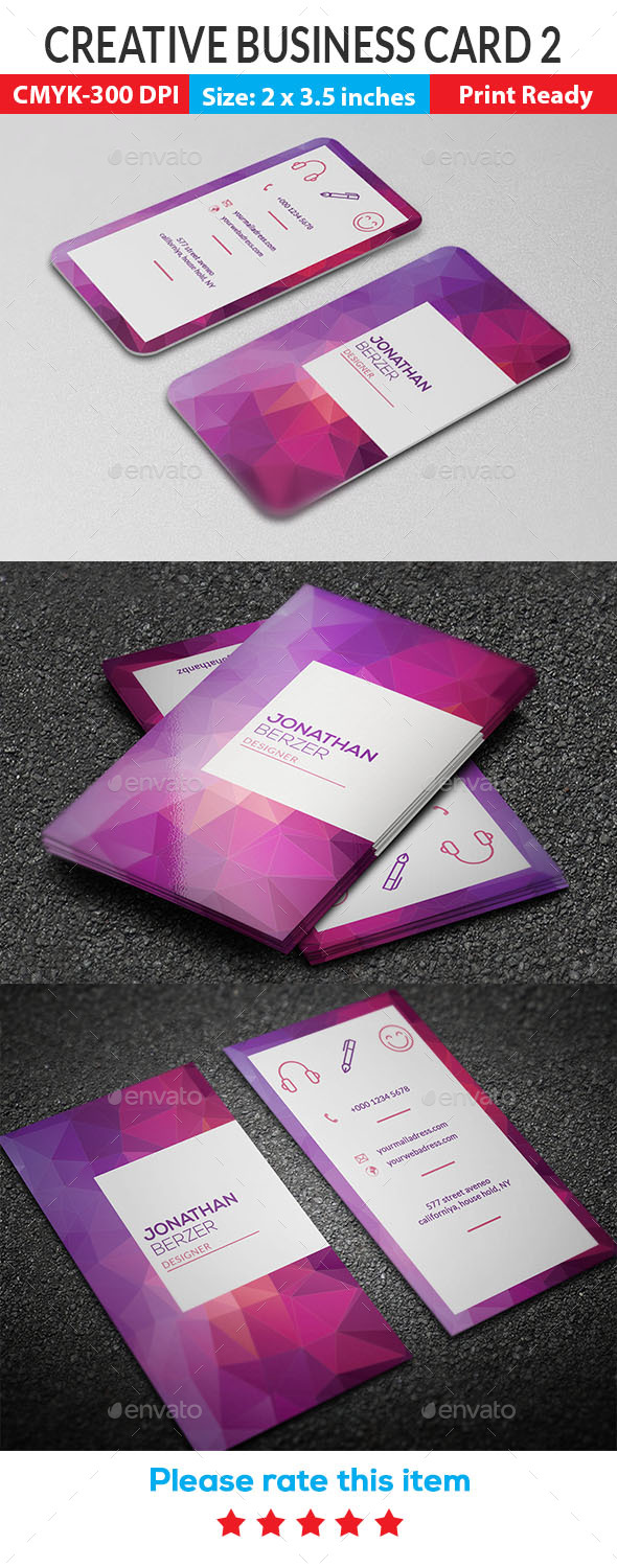 GraphicRiver Creative Business Card 2 21178282