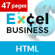 Excel - Multi-Purpose Business, Consultancy, Finance HTML5 Bootstrap Template