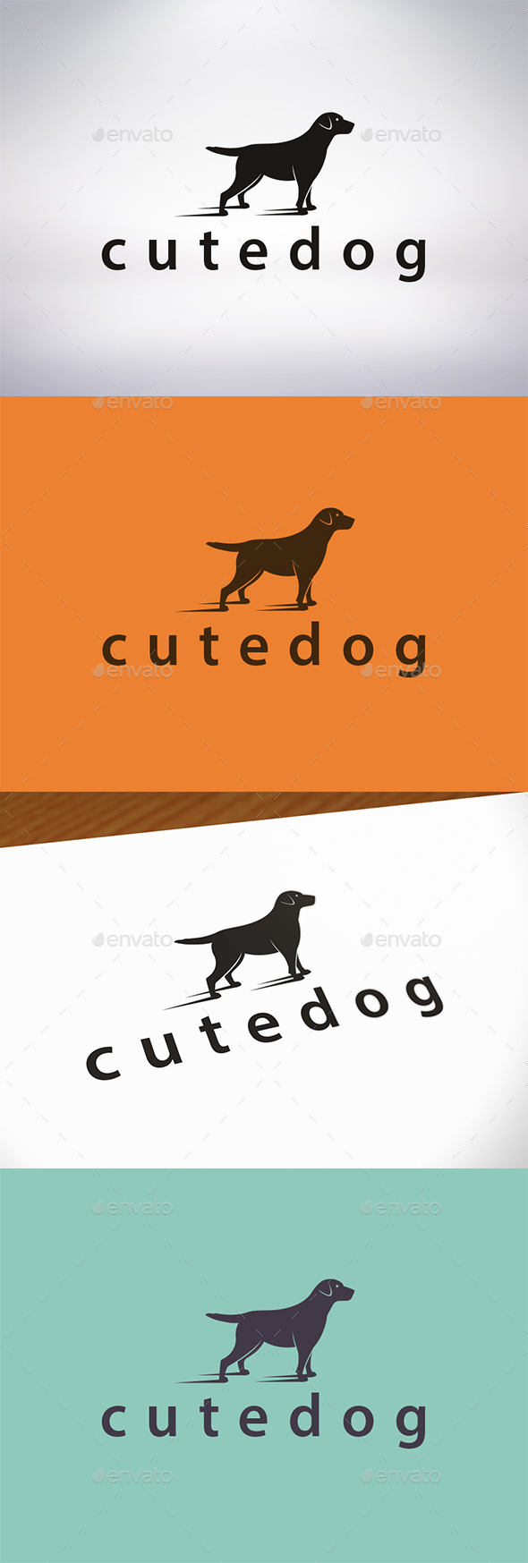 GraphicRiver Friendly Dog Logo Template 21188466