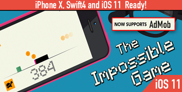 Download Source code              The Impossible Game – Deluxe Edition - iOS 11 and Swift 4 ready            nulled nulled version