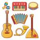 Musical Instruments Children's Toys Set