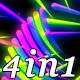 Rainbow Lines - VJ Loop Pack(4in1) - VideoHive Item for Sale