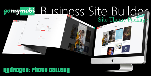 CodeCanyon gomymobiBSB's Site Theme Hydrogen Photo Gallery 21189354
