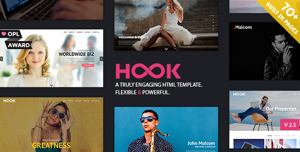 ThemeForest Hook Superior HTML Theme 21189377