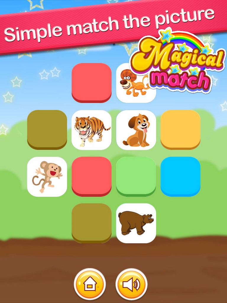 Magical Match Puzzle Game For Kids