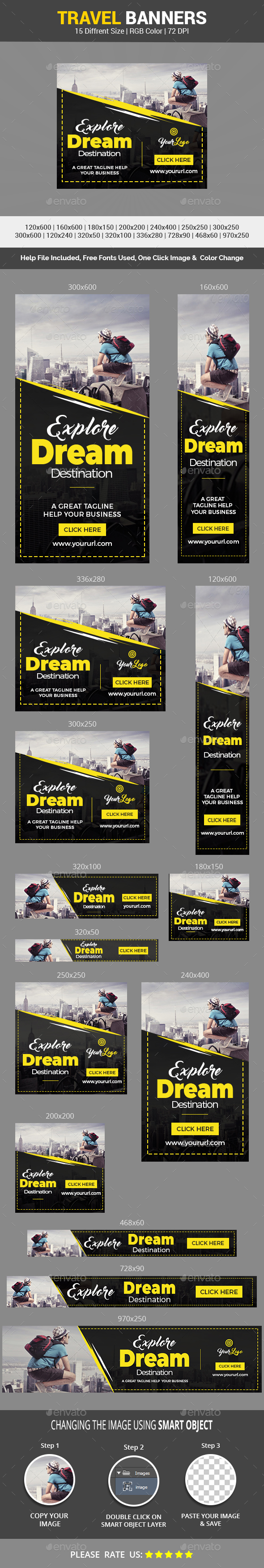GraphicRiver Travel Banner Vol.4 21189660