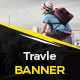 Travel Banner Vol.4