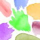 120 Watercolor Vector Brush Set