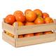 Fresh mandarins in wooden box - PhotoDune Item for Sale