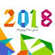 Happy  New Year 2018 FB Timeline Covers - GraphicRiver Item for Sale