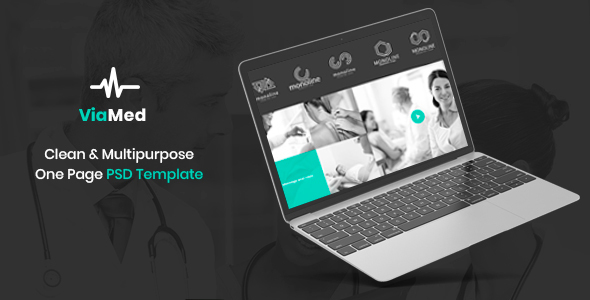 Viamed – Medical PSD Templates