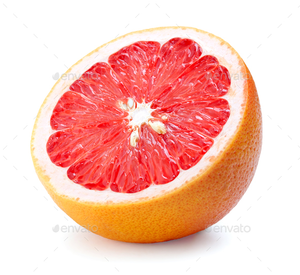 half of grapefruit - Stock Photo - Images