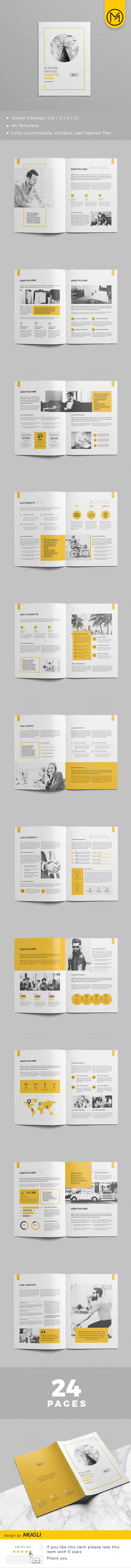 GraphicRiver Corporate Brochure Design 2018 21190152