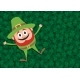 Happy Leprechaun on Clovers - GraphicRiver Item for Sale