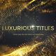 Luxurious Titles - VideoHive Item for Sale
