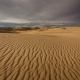 Clouds in the Desert Above the Sand Dunes - VideoHive Item for Sale