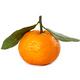Ripe fresh mandarin with leaf - PhotoDune Item for Sale