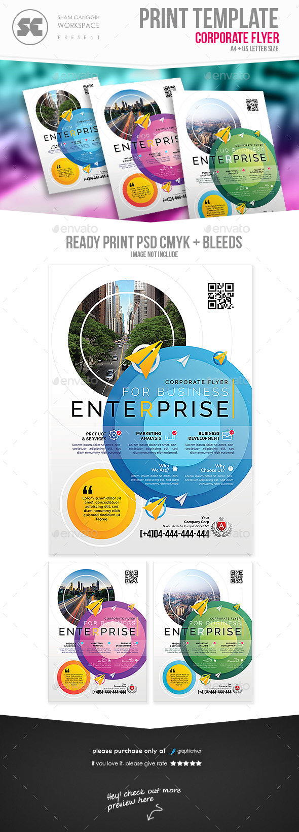 Professional Business Flyer - Corporate Flyers