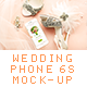 Wedding and Beauty Phone 6 Mockup