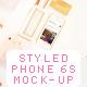Styled Phone 6 Mockup