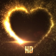 Explosive Golden Heart - VideoHive Item for Sale