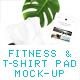 Pad Mockup. Fitness & T-Shirt